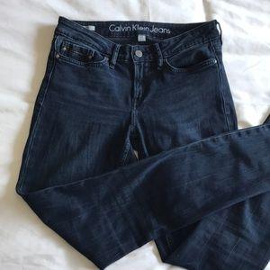 Calvin Klein skinny jeans - dark rinse